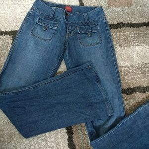 Abercrombie flare jeans size 0